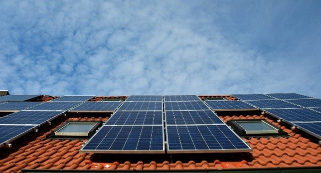 Zonnepanelen op dak