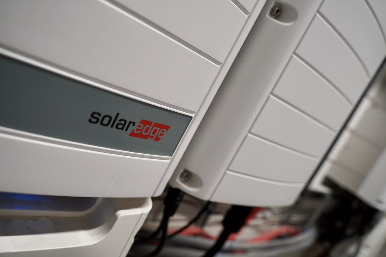 Solar Edge omvormer